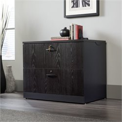 Pemberly Row 2 Drawer Lateral File Cabinet in Bourbon Oak