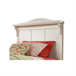 Pemberly Row Twin Panel Headboard in White