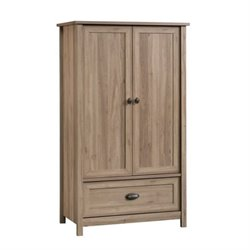 Pemberly Row Armoire in Salt Oak