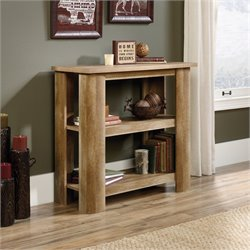 Pemberly Row 2 Shelf Bookcase in Craftsman Oak