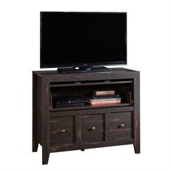 Pemberly Row TV Stand in Char Pine