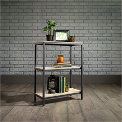 Pemberly Row 2 Shelf Bookcase in Charter Oak