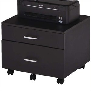 Pemberly Row File Cabinet in Black