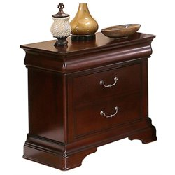 Pemberly Row 2 Drawer Nightstand in Brown