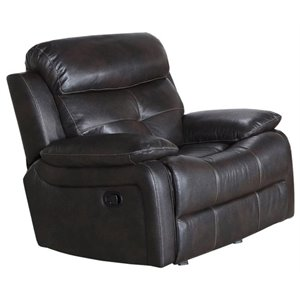 Pemberly Row Power Recliner in Brown
