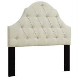 MER-1396 Upholstered Headboard in Beige