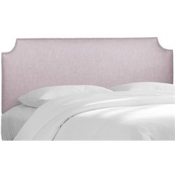 MER-1396 Upholstered Panel Headboard in Smokey Quartz