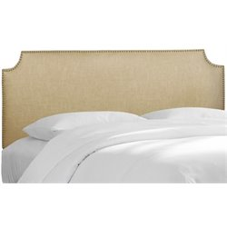 MER-1396 Upholstered Panel Headboard in Sandstone 2