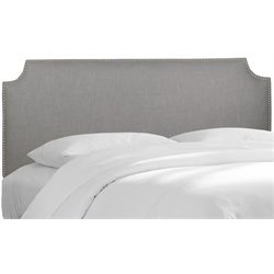 MER-1396 Upholstered Panel Headboard in Gray 6