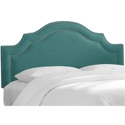 MER-1396 Upholstered Panel Headboard in Laguna 2