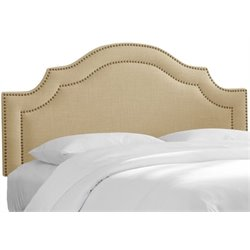 MER-1396 Upholstered Panel Headboard in Sandstone 3