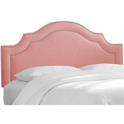 MER-1396 Upholstered Panel Headboard in Petal 1