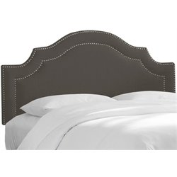 MER-1396 Upholstered Panel Headboard in Slate