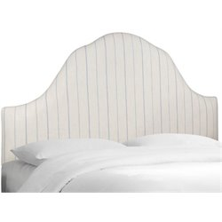MER-1396 Upholstered Panel Headboard in Sky