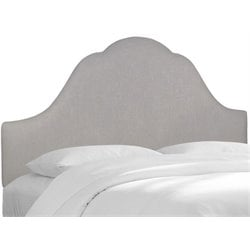 MER-1396 Upholstered Panel Headboard in Gray 7