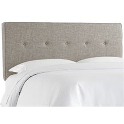 MER-1396 Upholstered Panel Headboard in Feather
