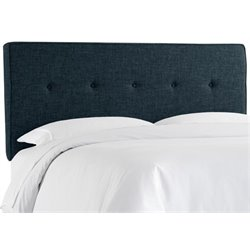 MER-1396 Upholstered Panel Headboard in Navy 7