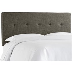 MER-1396 Upholstered Panel Headboard in Charcoal 5
