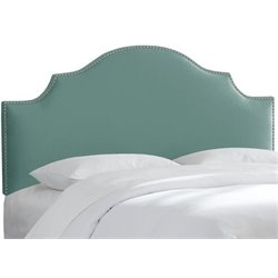 MER-1396 Upholstered Panel Headboard in Caribbean 1