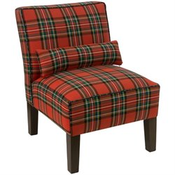 Pemberly Row Accent Chair in Ancient Stewart Red