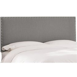 MER-1396 Upholstered Panel Headboard in Gray 2
