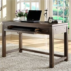 Beaumont Lane Writing Desk in Warm Cocoa