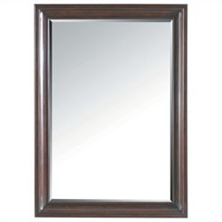 Beaumont Lane Landscape Mirror in Polished Sable