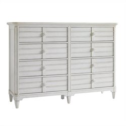 Beaumont Lane 8 Drawer Dresser in Parchment