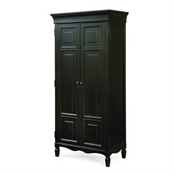 Beaumont Lane Tall Cabinet in Midnight