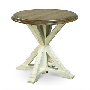 Beaumont Lane Garden End Table in Terrace Gray