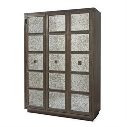 Beaumont Lane Wardrobe Armoire in Brown Eyed Girl