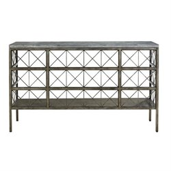 Beaumont Lane Console Table in Metal