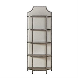 Beaumont Lane Fresh Air Etagere Shelf in Metal