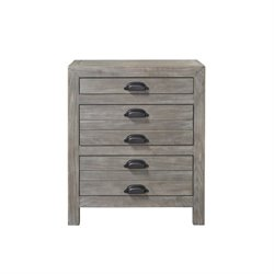 Beaumont Lane Nightstand in Graystone