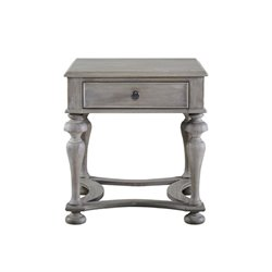 Beaumont Lane End Table in Graystone