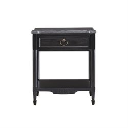 Beaumont Lane Nightstand in Black Denim