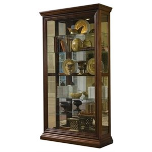 Beaumont Lane Curio Cabinet in Cherry