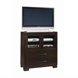 Beaumont Lane 2 Drawer Media Chest in Sable