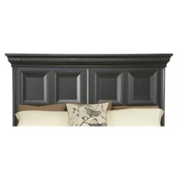 MER-1395 Beaumont Lane California King Panel Headboard in Ebony