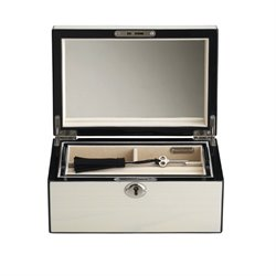 Reed and Barton Modern Lines Jewelry Box