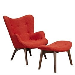 445562 Aiden Chair in Lava Red