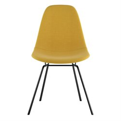 331003 Mid Century Classroom Side Chair in Papaya Yellow