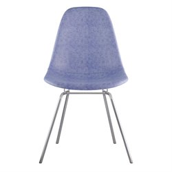 331015 Mid Century Classroom Side Chair in Weathered Blue