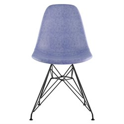 331015 Mid Century Eifel Side Chair in Weathered Blue