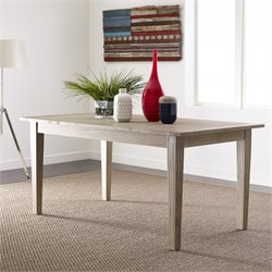 Tommy Hilfiger Lexington Dining Table in Weathered Oak