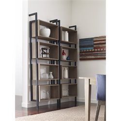 Tommy Hilfiger 4 Shelf Bookcase in Light Burnt Oak