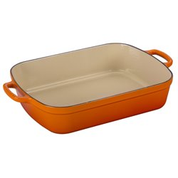 Le Creuset Signature Rectangular Roaster in Flame