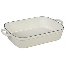 Le Creuset Signature Rectangular Roaster in White