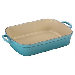 Le Creuset Signature Rectangular Roaster in Caribbean