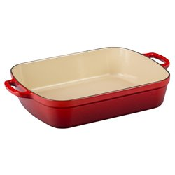 Le Creuset Signature Rectangular Roaster in Cerise